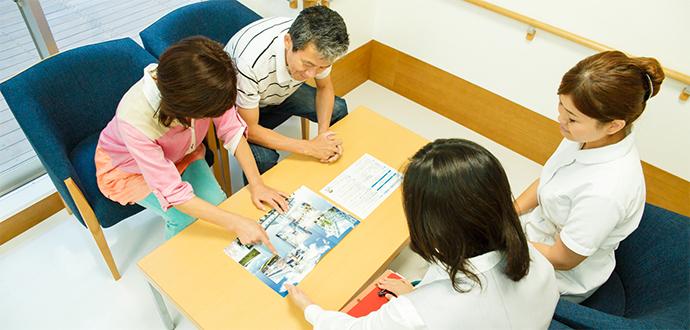 入退院のサポート体制